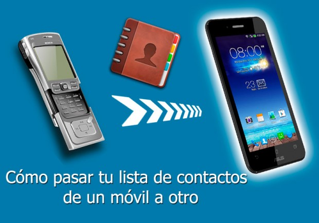 como pasar contactos de un movil a otro iphone android