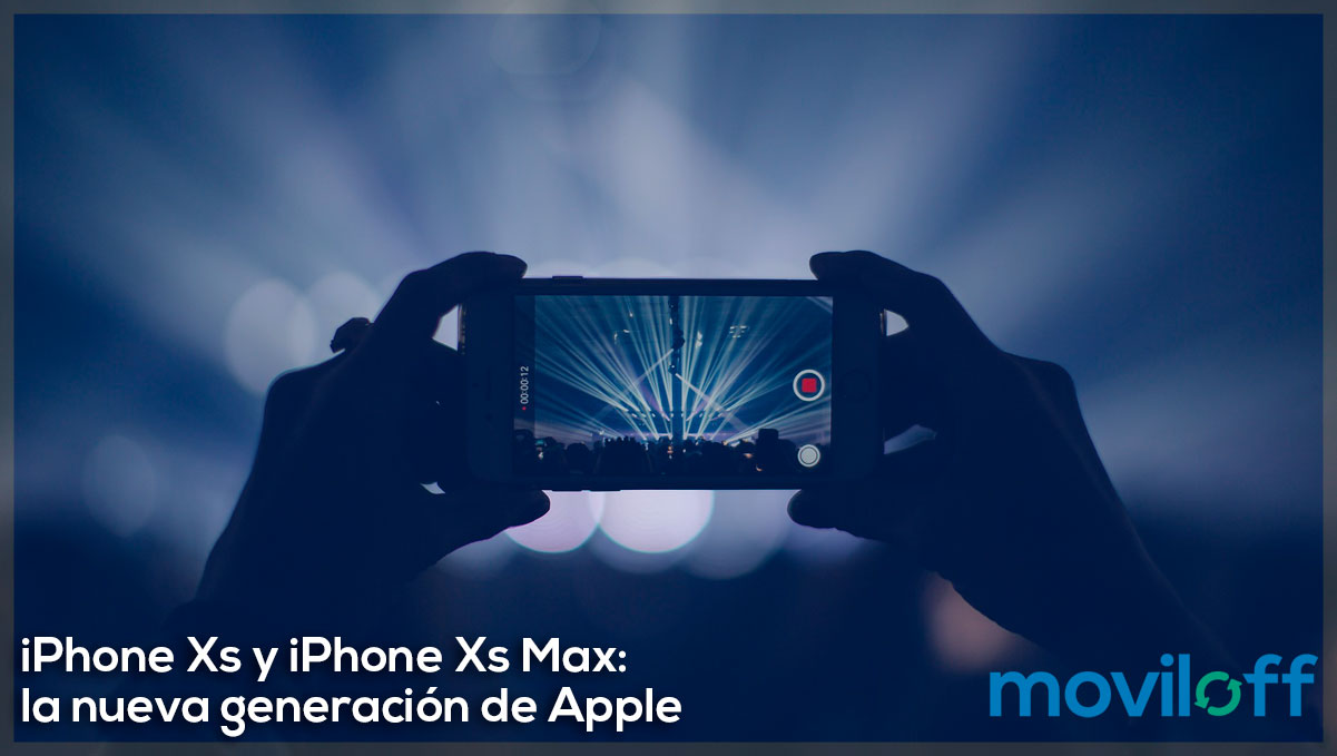 iphone xs y iphone xs max ultima generación Apple