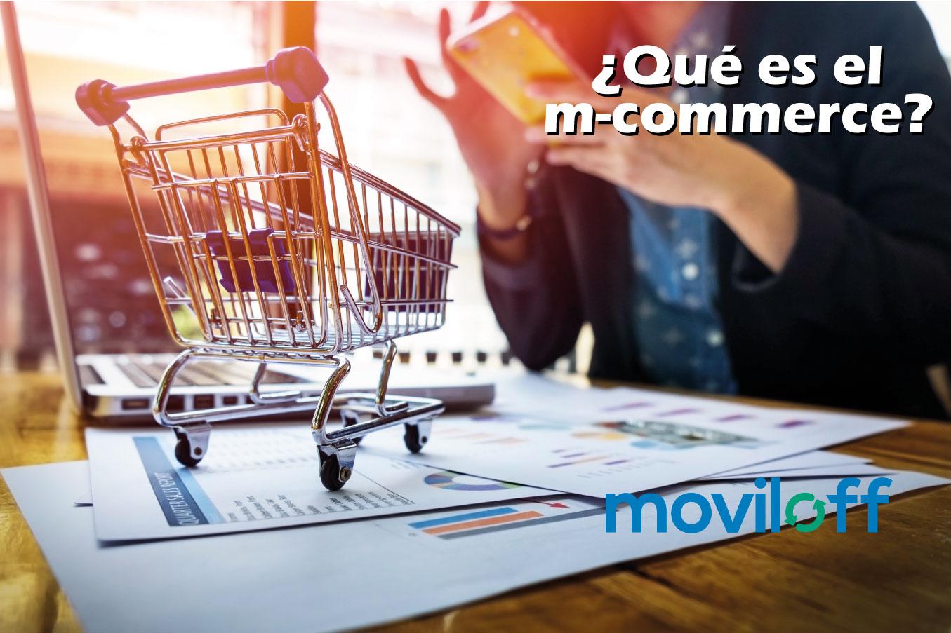 M-Commerce o comercio electrónico usando el teléfono móvil