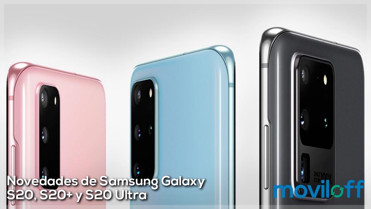 Novedades de los nuevos Samsung Galaxy S20, S20+ y S20 Ultra
